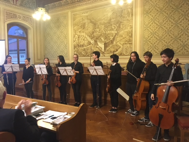 Accompagnamento musicale, cerimonia FSRMM