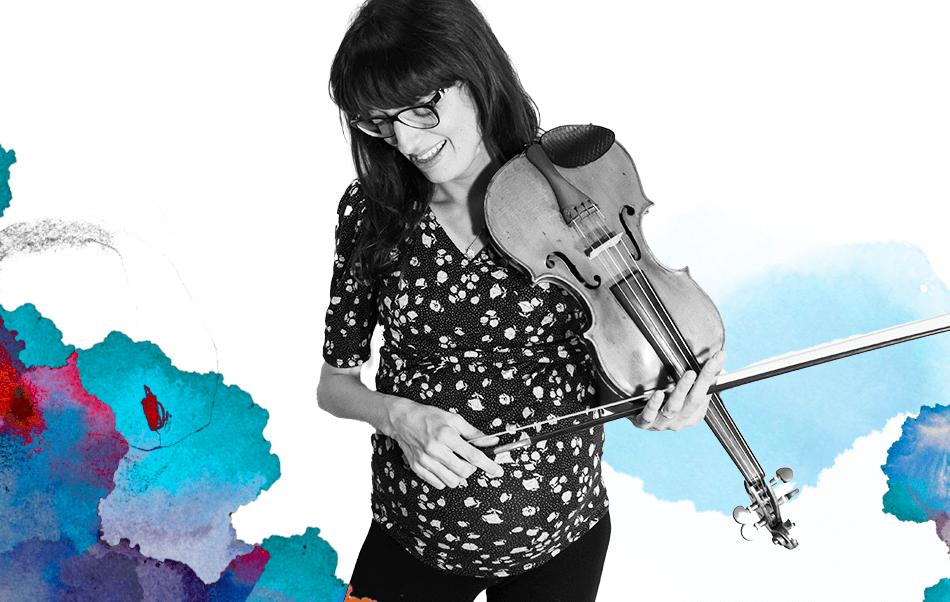 Anna Minella, docente di violino