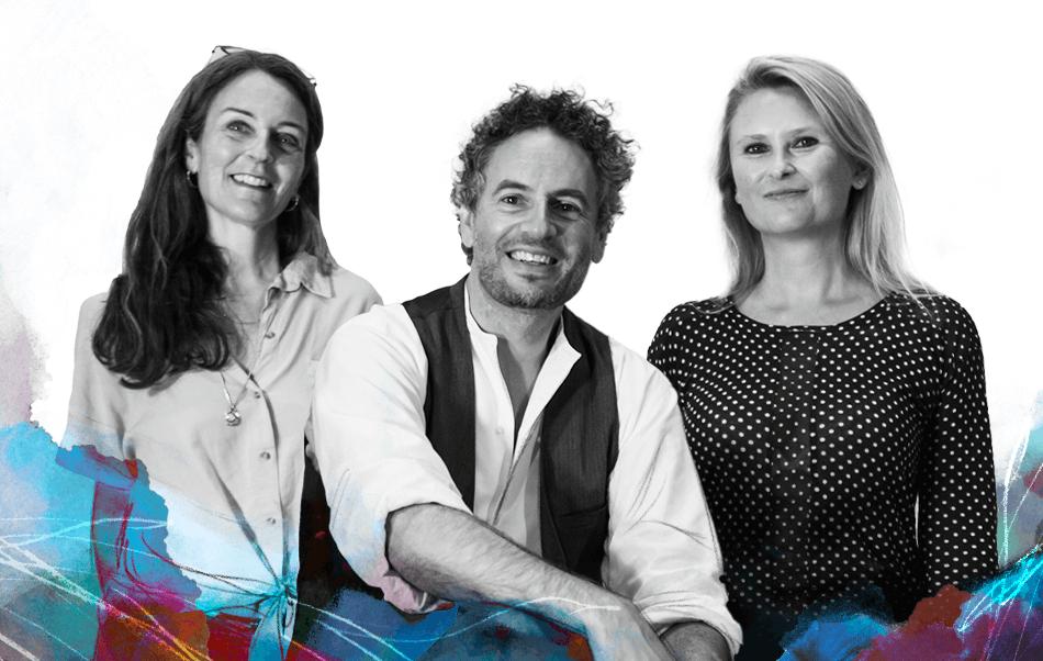 La direzione di Accademia Vivaldi: Mimmo Prisco, Raffaella Damaschi e