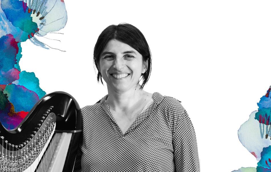 Elena Spotti, docente di arpa