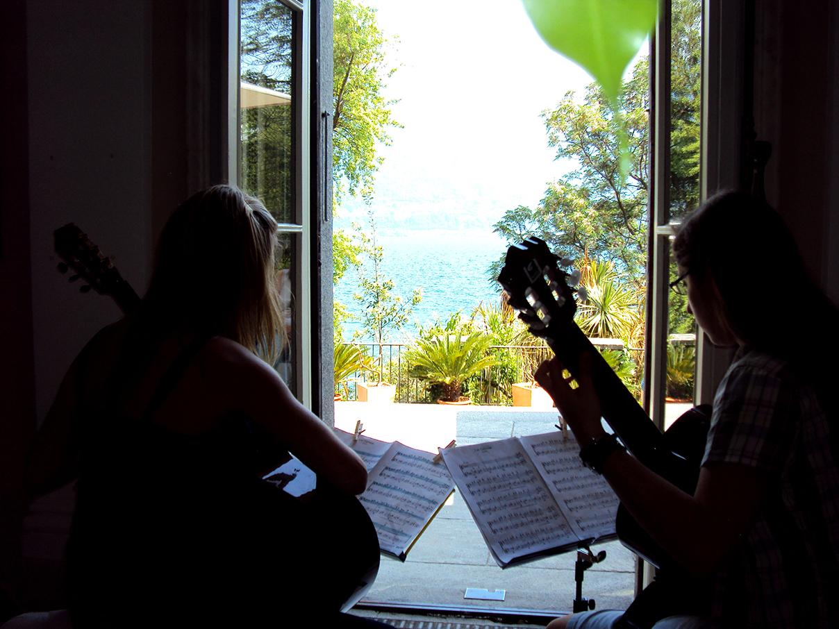 Concerto: chitarra alle Isole di Brissago, 2012