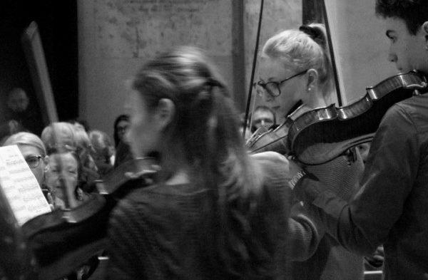 violini in concerto