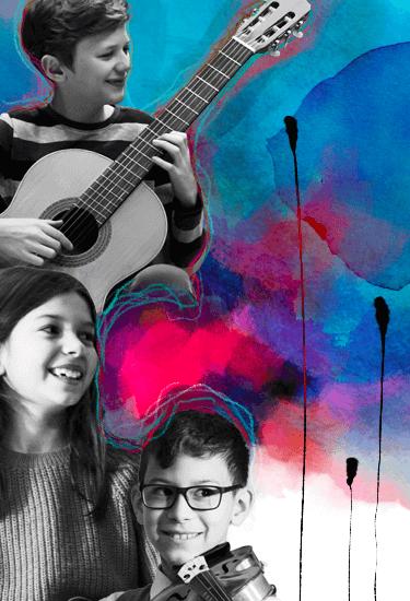Musica d'assieme in Accademia Vivaldi: i ragazzi suonano insieme e imparano l'amicizia